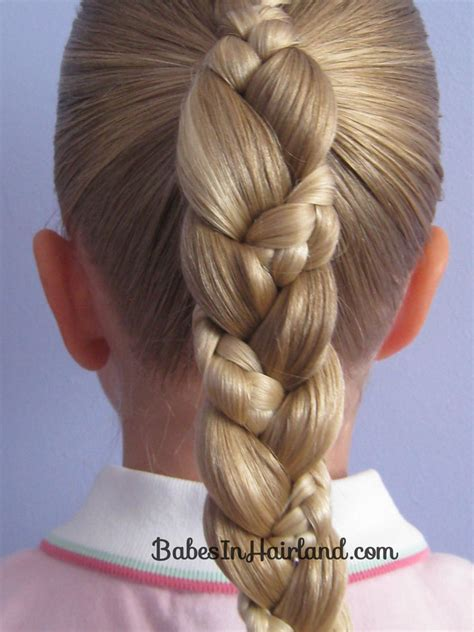 braiding into pomytail french braid into a braided ponytail babes in hairland