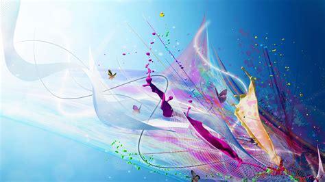 imagenes abstractas hd colores mariposas de colores fondos hd
