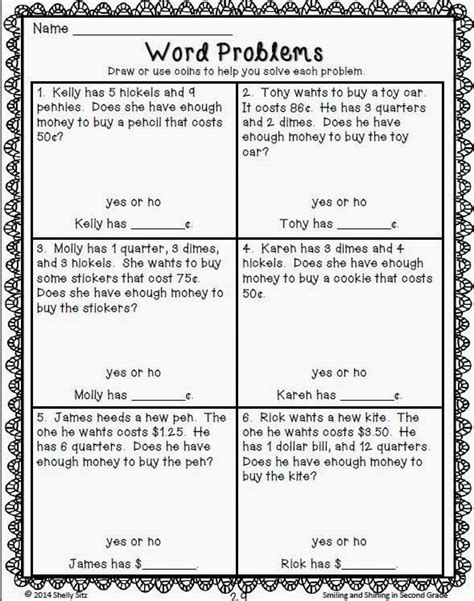 2nd Grade Math Word Problems Worksheets by 2nd Grade Math Problems Search Engine At Search