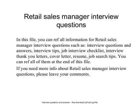 retail team leader interview questions