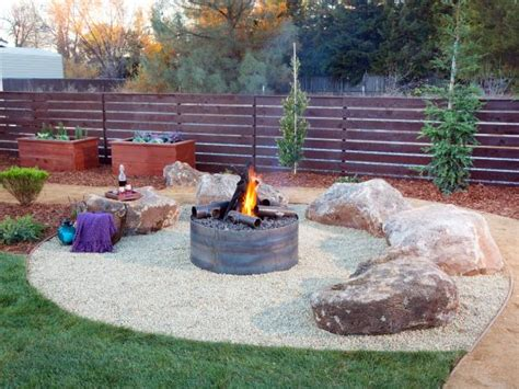 yard crashers rock pit photos diy