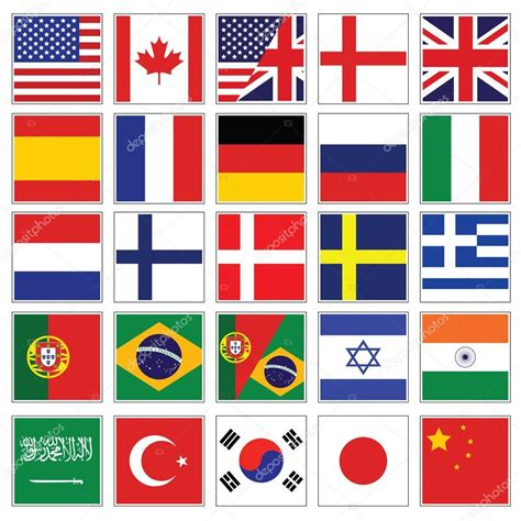 flags of the world languages flag language printable flags