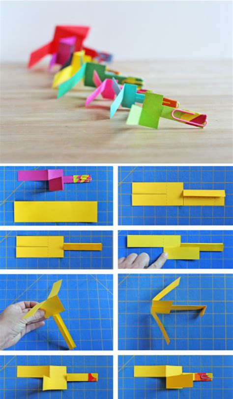 How To Make Toys With Paper Step By Step - diy paper helicopter babble dabble do