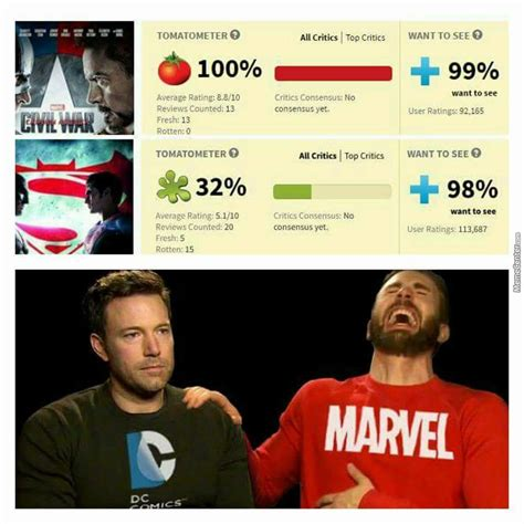 Dc Memes - marvel vs dc dawn of criticism by zerozastres471 meme