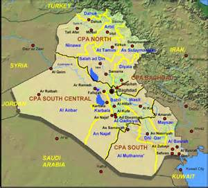 us army regions map regions of iraq