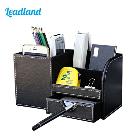 Multi Function Desk Stationery Organizer Pen Holder Pens Office Desk Pen Holder