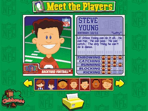 backyard football 1999 download pc backyard football 1999 download 28 images backyard