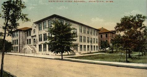 meridian high school in meridian mississippi city