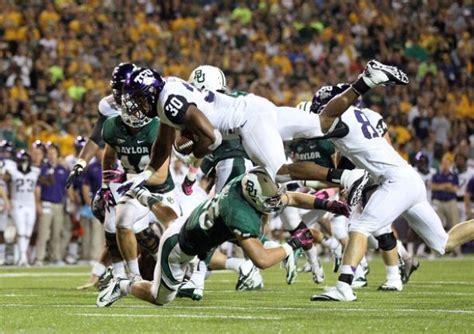 Mba Baylor Football Score by Live Tcu Horned Frogs Vs Baylor Bears 2014 Ncaa College