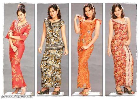 Dress Batik Modern C 156 store co id model pakaian batik mode fashion