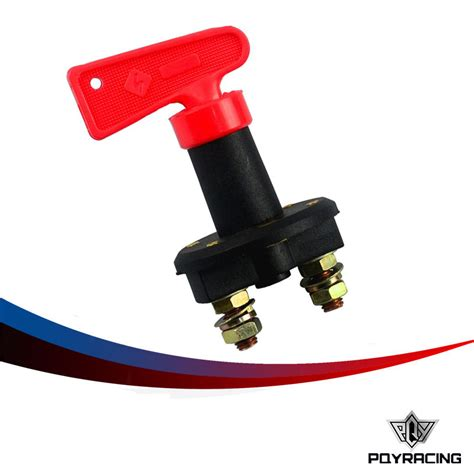 car kill switch kit ᑐpqy master battery isolator cut out out off kill