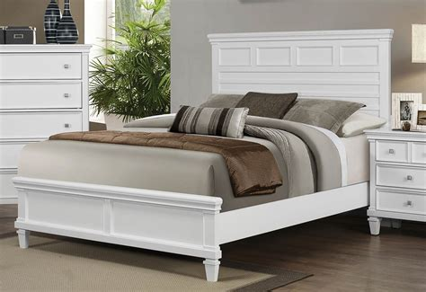 Coaster White Bedroom Furniture by Coaster Camellia Bedroom Set White 200221 Bed Set At