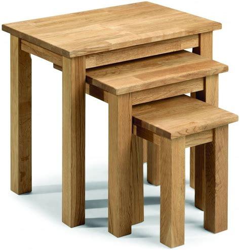 oak nest of tables buy julian bowen coxmoor oak nest of tables coxmoor nest