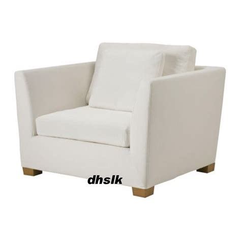 white armchair slipcover ikea stockholm armchair slipcover chair cover rostanga