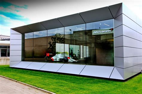 mclaren dealership mclaren opens its first two dealerships in germany carscoops