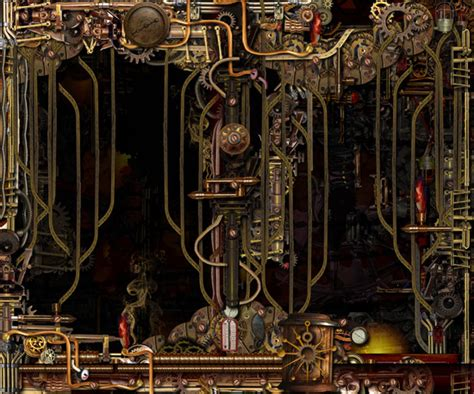 Wall Mural Nature steampunk factory android central