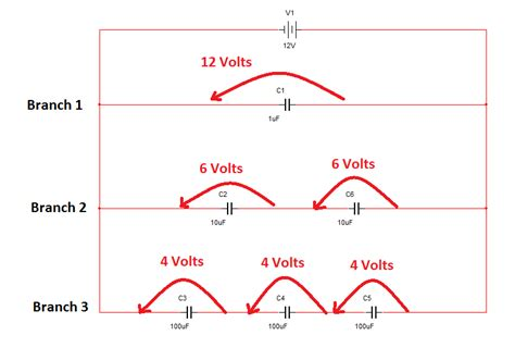voltage drop across series capacitor voltage drop across a capacitor in parallel 28 images electronic power and electronic power