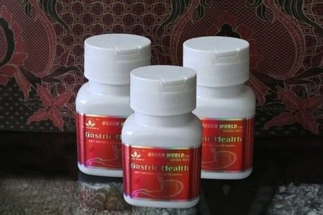 Obat Asam Lambung Ramuan Cina gastric health tablet green world