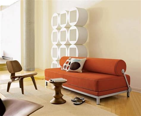 Morpheo Sofa Bed With Built In Creepy Ls by Bauder