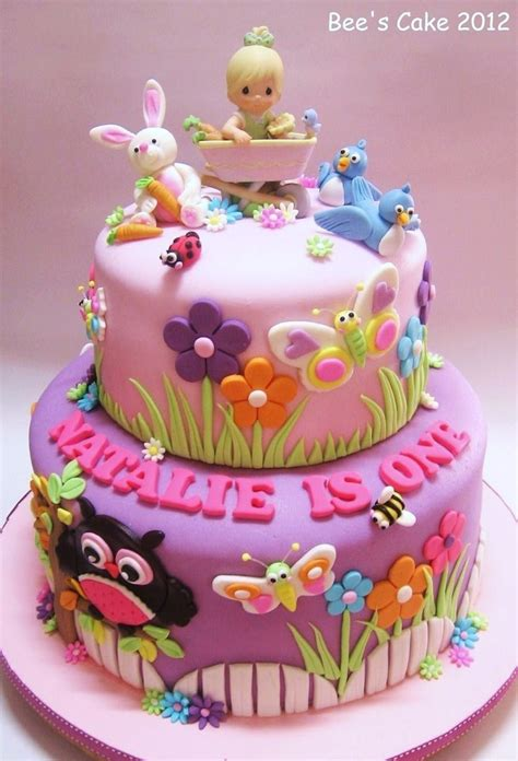 Baby Birthday Cake by Happy Birthday Pretty Cake Jerzy Decoration
