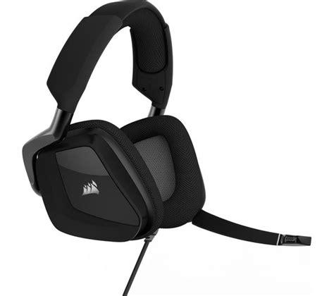 Pro 1 Pegang Jepit Headset corsair void pro 7 1 gaming headset black deals pc world