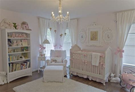 White Nursery Decor 6 Shabby Chic Nursery D 233 Cor Tips And 24 Ideas Shelterness