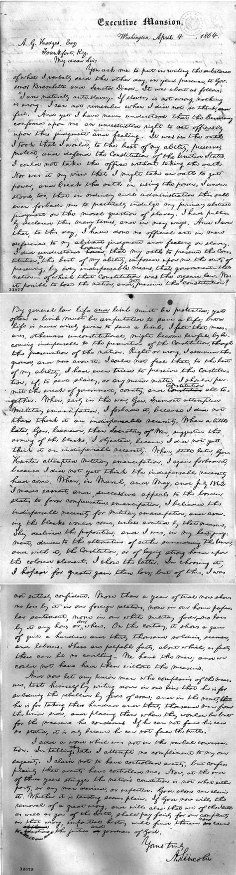 abraham lincoln letter to principal election 2012 issue my letter to christian voters