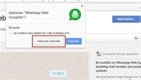 techtudo tutorial whatsapp como ficar invis 237 vel no whatsapp web e esconder o status