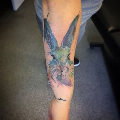 rabbit tattoos designs 1000 ideas about bunny tattoos on tattoos
