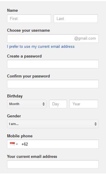 cara membuat email perusahaan di gmail gratis cara membuat email gratis di gmail burung internet