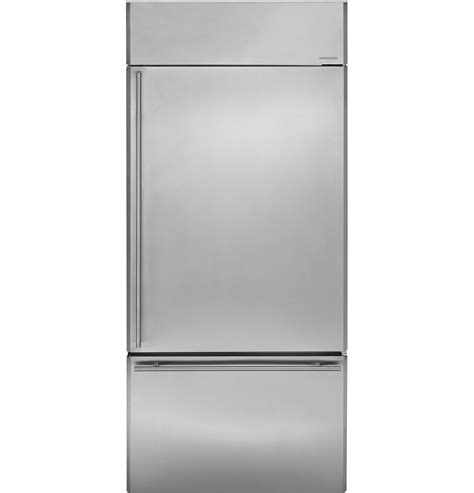 ge monogram refrigerator zics360nxrh ge monogram 174 36 quot built in bottom freezer