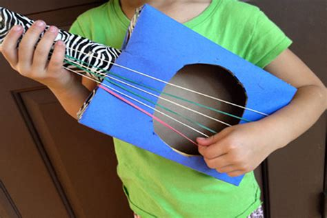 How To Make A Paper Guitar That Works - egfi for teachers 187 simple musical instruments