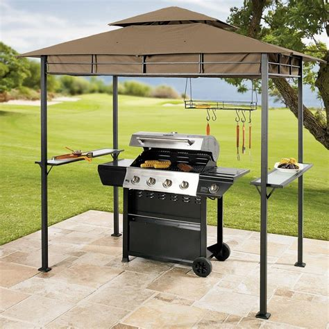 Backyard Grill Placement Outdoor Bbq Gazebo Images Amazing Gazebo For Small