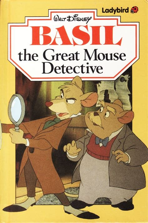 detective barnes series books basil the great mouse detective ladybird book disney