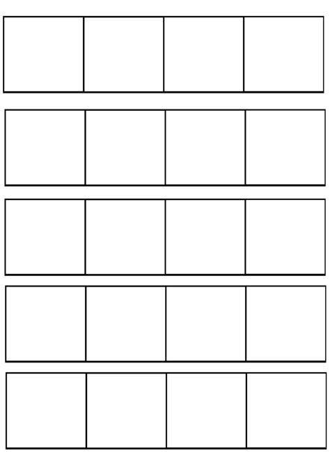 6 panel comic template 4 panel comic template by redkitebait on deviantart