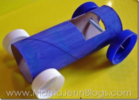 What Can You Make Out Of A Toilet Paper Roll - rollin race cars tp race car tutorial