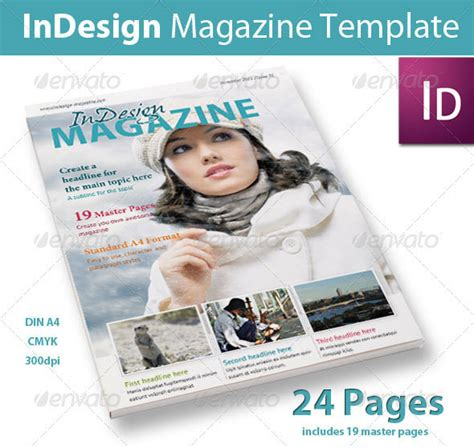Magazine Cover Template Indesign 20 best magazine templates psd indesign design freebies