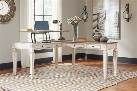 Best Desk L For by Realyn Lift Top L Shaped Home Office Desk By Signature