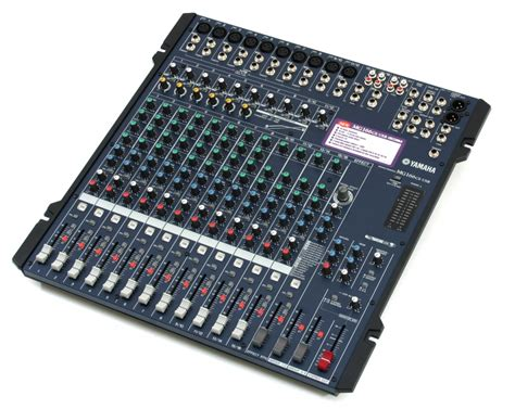 Mixer Yamaha 166cx Usb yamaha mg 166 cx usb digital effects mixer
