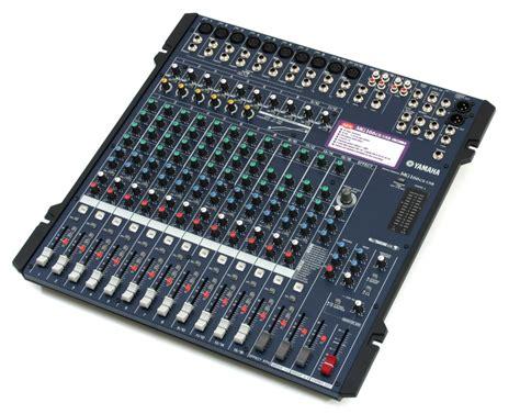 Mixer Yamaha Mg yamaha mg 166 cx usb digital effects mixer