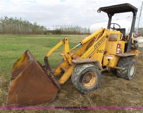 swing loader crop production services surplus fleet auction in
