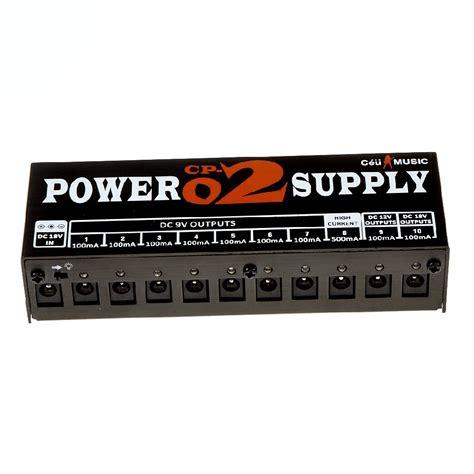 adapter power supply 10 output max 1000ma untuk pedal efek gitar black jakartanotebook