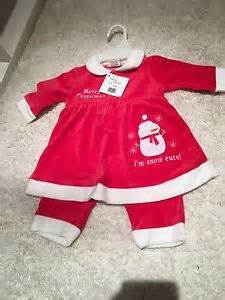 Bnwt baby girl 6 9 months first christmas outfit dress and trousers