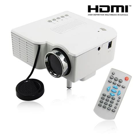 Lu Led Proyektor Mobil uc28 pro hdmi portable mini led projector home cinema