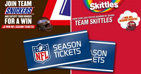 Ticketmaster Super Bowl Sweepstakes - snickers skittles super bowl lii rivalry 2018 sweepstakes