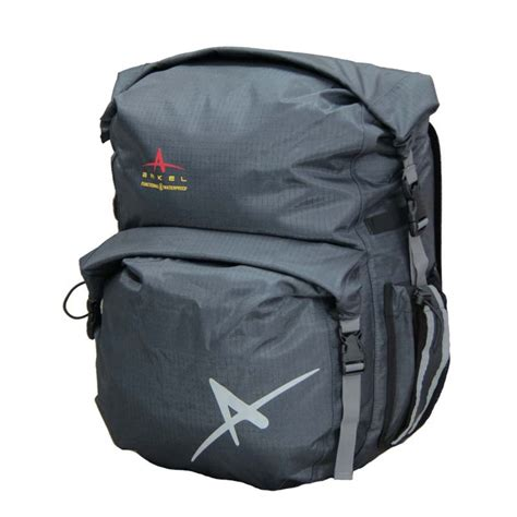 bicycle waterproofs dolphin 48 bike pannier waterproof panniers by arkel