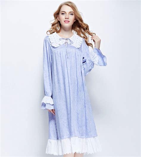 vintage nightgowns womens vintage pajamas high quality women s sleepwear viscose nightgowns light