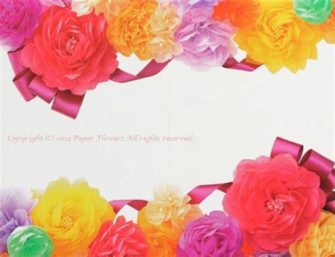 67 best images about お花紙フラワー 不織布フラワー tissue paper flowers