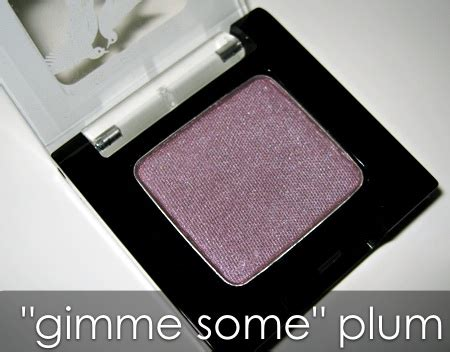Mizzu Eye Shadow Velvet Plum 04 benefit velvet eyeshadows swatches pictures and impressions makeup and