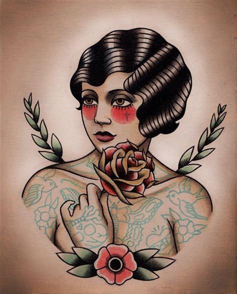 old school woman tattoo design old school tattoo woman google search bearded lady